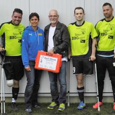 Wir unterstützen den Amputiertenfußball der Sportfreunde Braunschweig